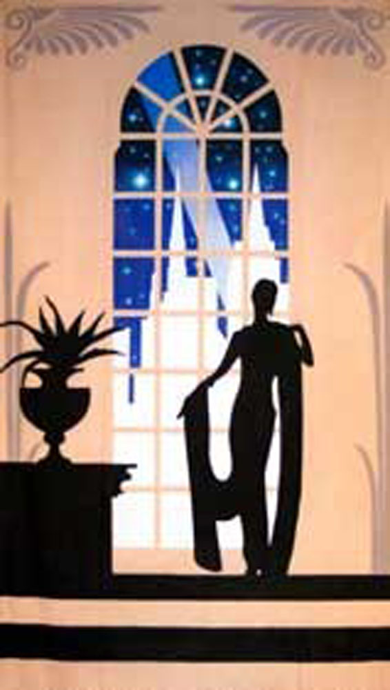Art Deco Lady Gala 1 Backdrop 5m x 3m