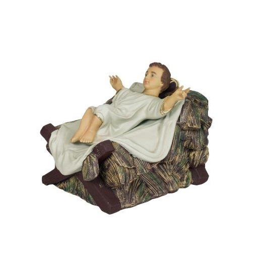 Baby Jesus in Crib | Lolliprops Event Prop & Furniture Hire