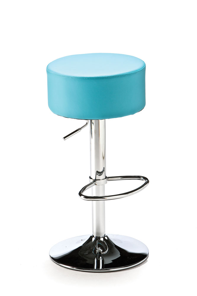 Blue Button Bar Stool Lolliprops Event Prop Amp Furniture Hire
