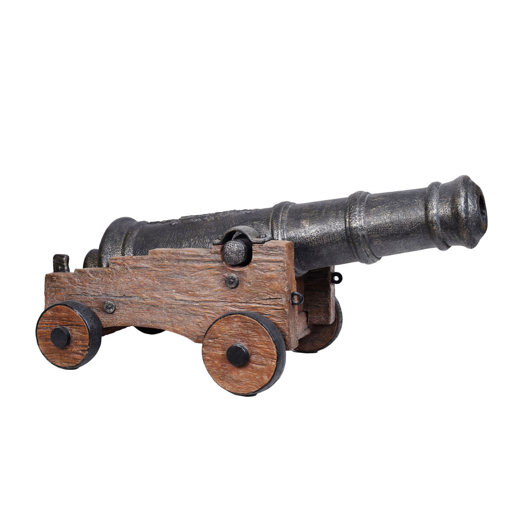 Cannon on Carriage 1.6m