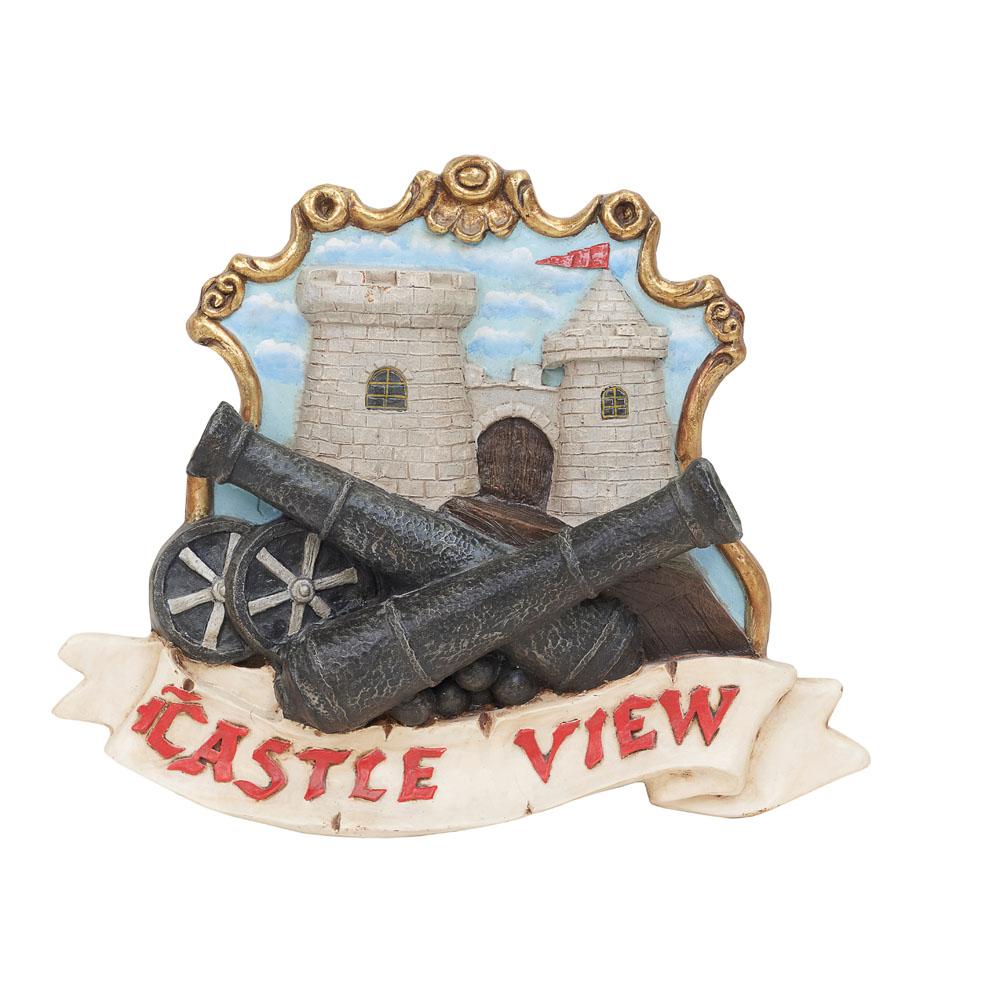 Castle View Pirate Sign 482mm