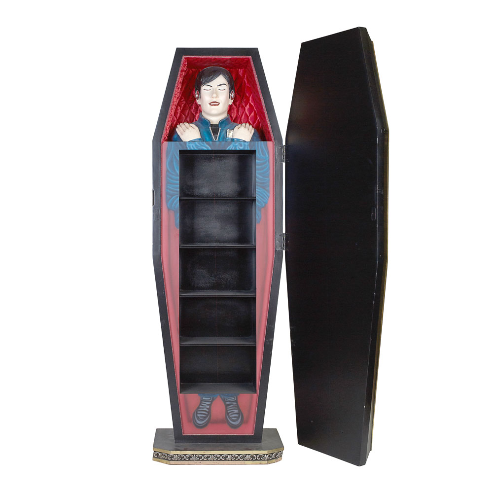 Coffin with Head inside