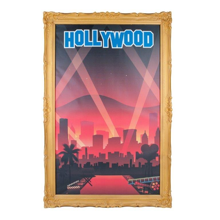 Giant Hollywood Print in Frame 2.5m