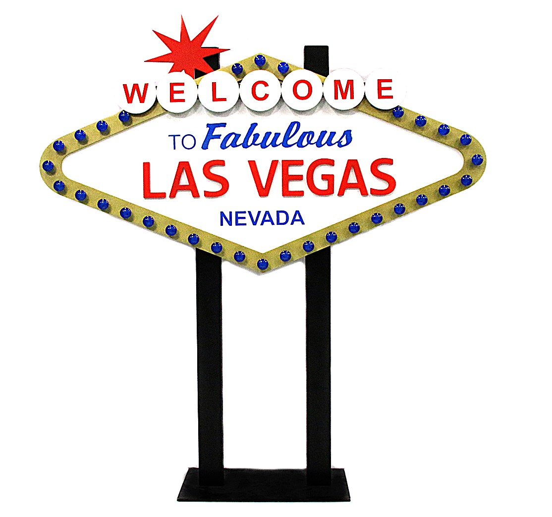 Giant Welcome to Las Vegas Sign