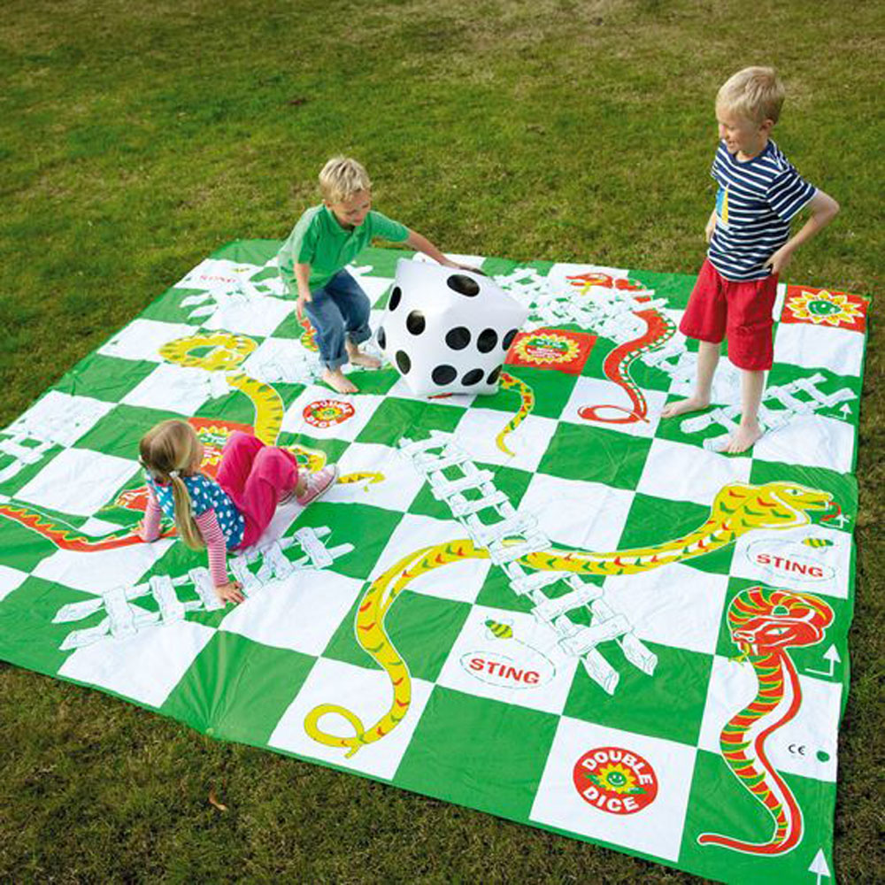 Giant Snakes & Ladders 3m x 3m
