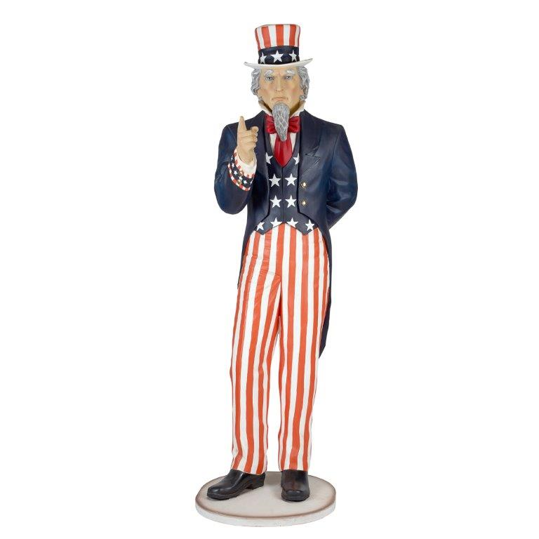 Giant Uncle Sam Figure