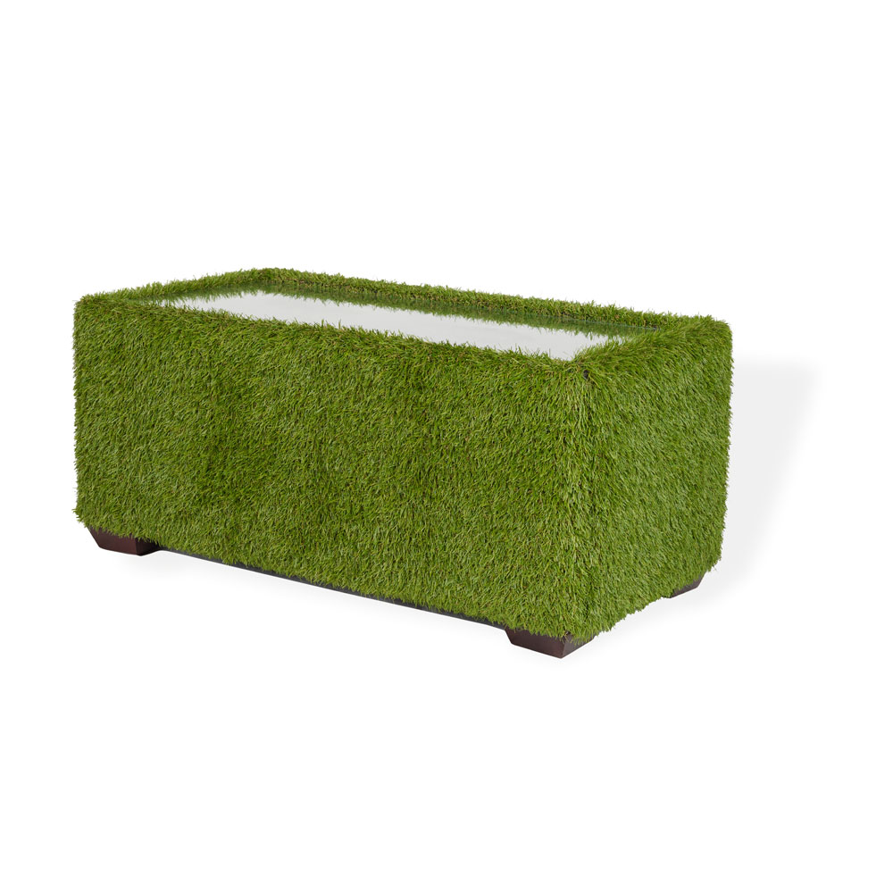 Grass Covered Club Coffee Table