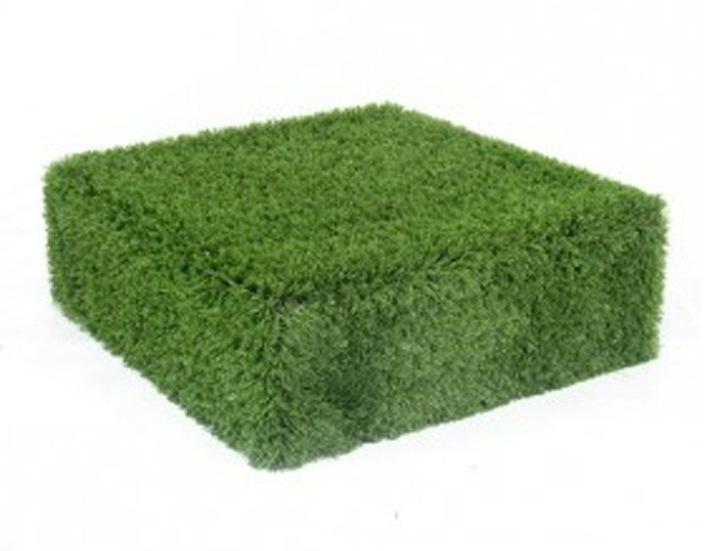 Grass Covered Plinth