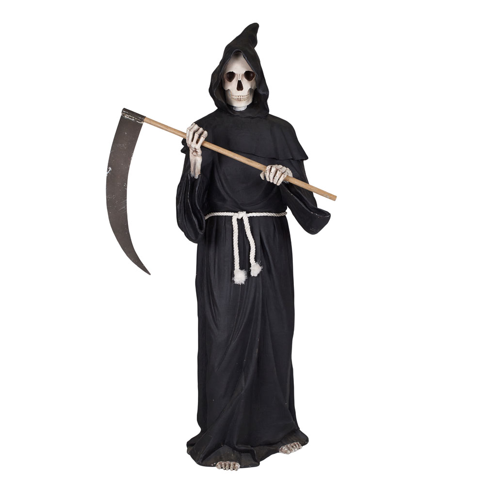 Grim Reaper with Scythe Life Size Figure