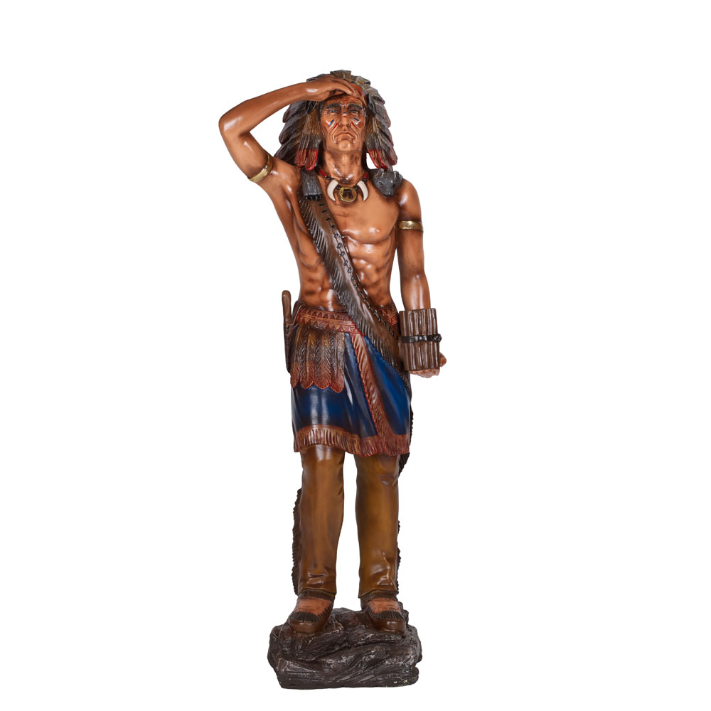 Indian Warrior Life Size