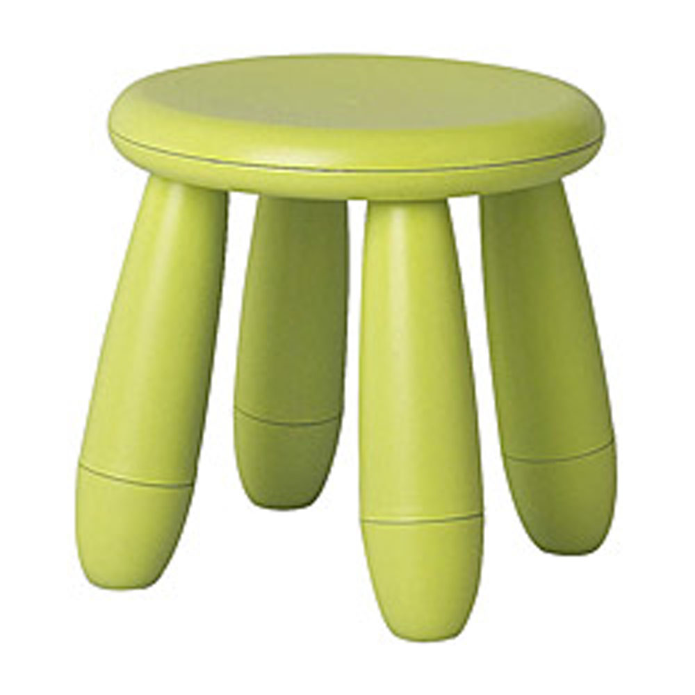 Children's Lime Green Stool