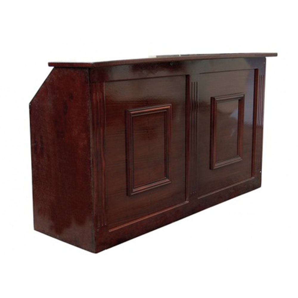 Mahogany Wooden Bar Unit 1.8m