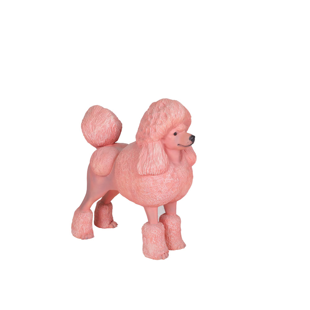 Life-Size Pink Poodle