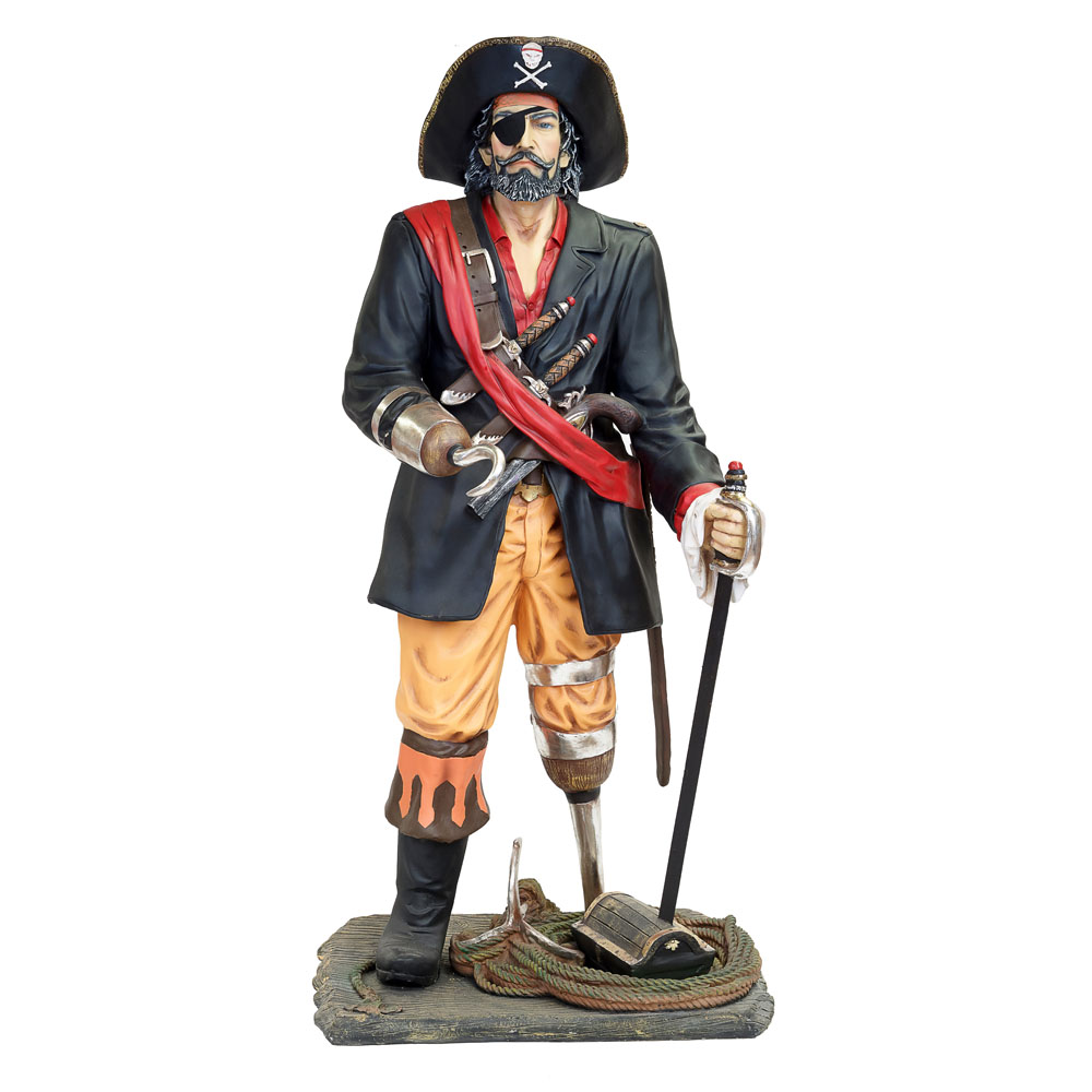 Pirate Captain Life Size