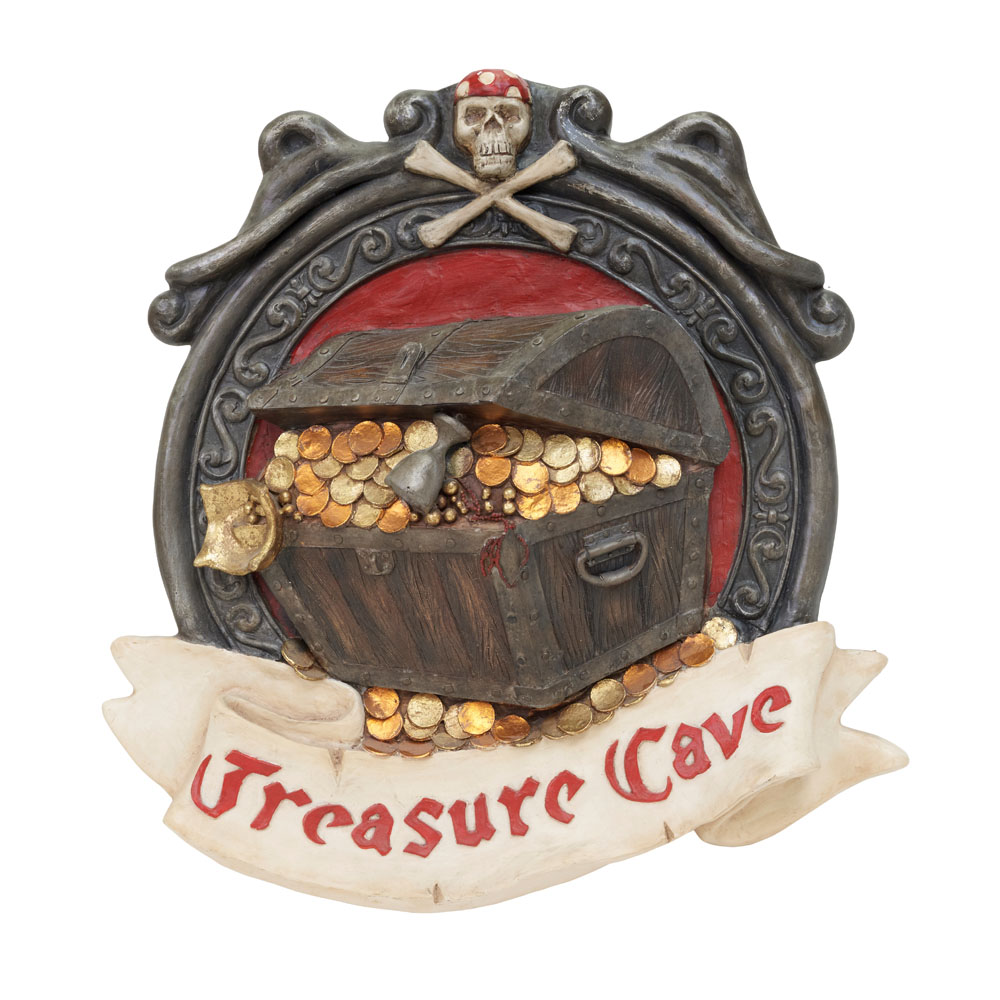 Treasure Cove Pirate Sign 600mm