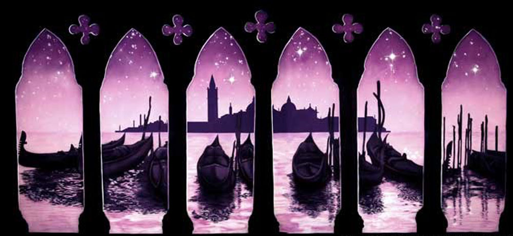 Venice by Moonlight Backdrop 6m x 12m