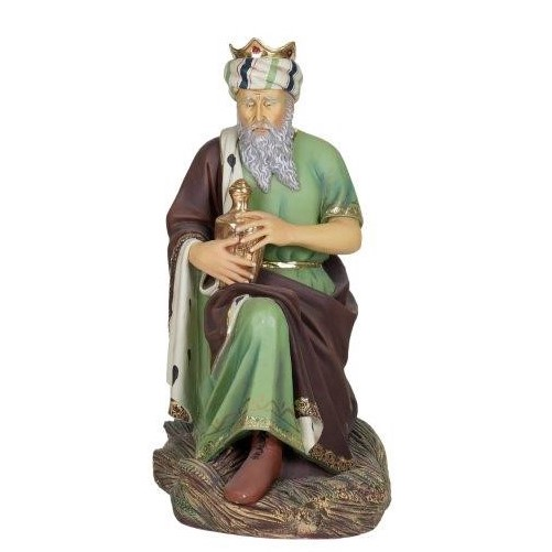 Life Size Wise Man Kneeling With Urn 1 3m Lolliprops