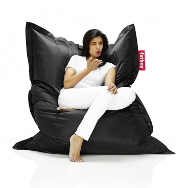 Black Fatboy Bean Bag