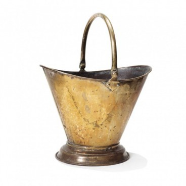 Brass Coal Bucket