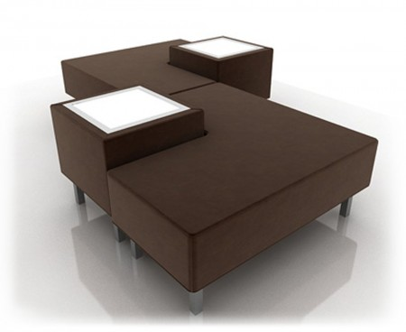 Brown Soho Combo 2 Sofa
