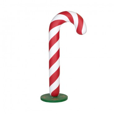 Giant Candy Cane on Stand 1.9m