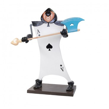 Card Soldier with Axe