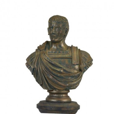 Classical Male Bust Gold
