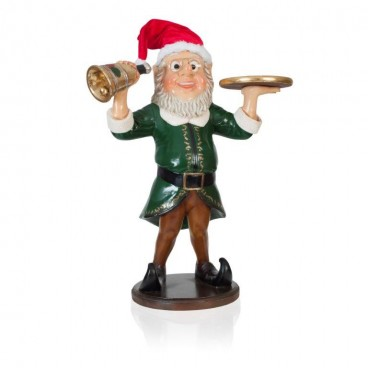Elf Waiter with Bell 940mm