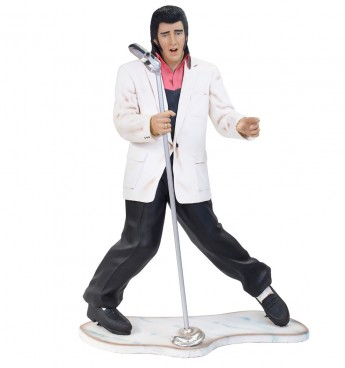 Elvis (White Jacket) Life Size Figure