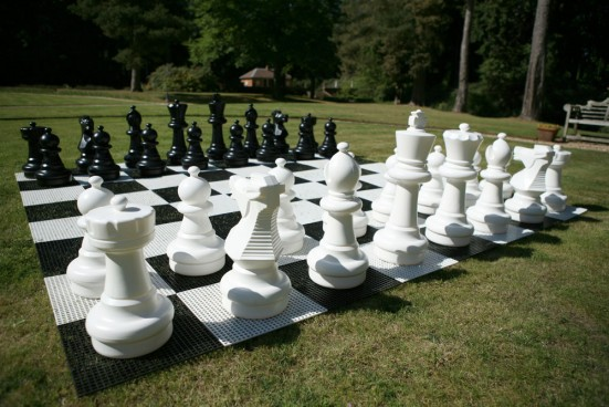 Giant Outdoor Chess