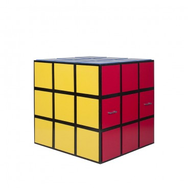 Giant Rubik's Cube with Solid Sides