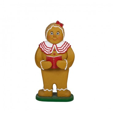 Gingerbread Girl With Book 1.2m