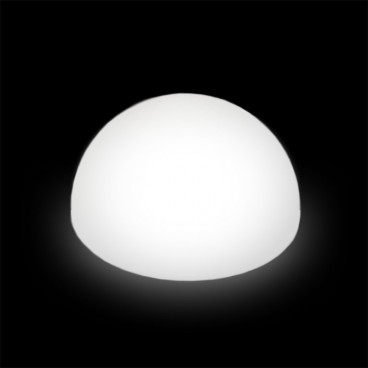 Globe Light Half Round 1200mm