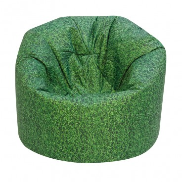 Grass Printed Bean Bag