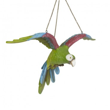 Green Parrot (flying)