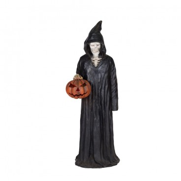 Grim Reaper with Pumpkin Life Size-Figure