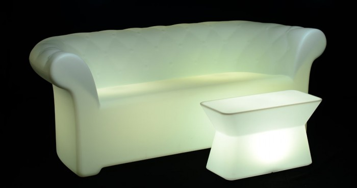 Illuminated Chesterlight Sofa