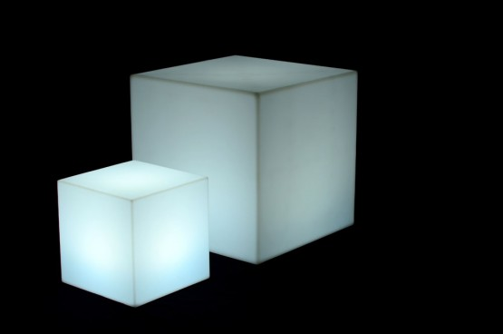 Illuminated Cube Large