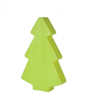 Illuminated Green Christmas Tree 1m