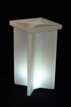 Illuminated Ice Cocktail Table