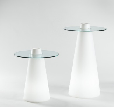 Illuminated Peak Cocktail Table 800mm
