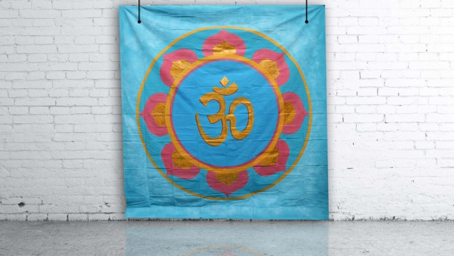 Indian Om Backdrop 3m x 3m