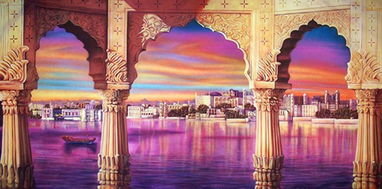 Indian Palace Backdrop 3m x 6m