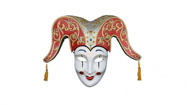 Jolly Francese Carnival Mask 700mm