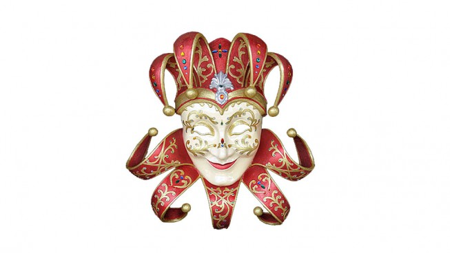 Jolly Ridente Carnival Mask 700mm