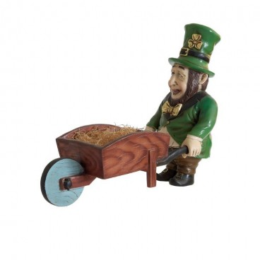 Leprechaun with Wheelbarrow