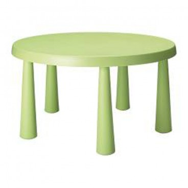 Children's Lime Green Round Table