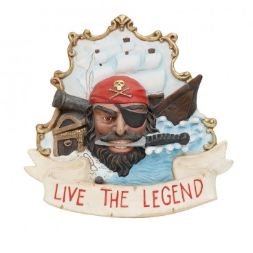 Live the Legend Pirate Sign 600mm