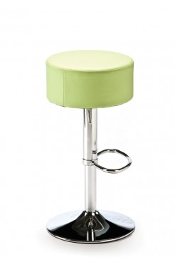 Mint Green Button Bar Stool
