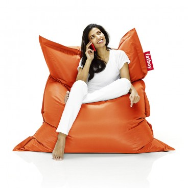 Orange Fatboy Bean Bag